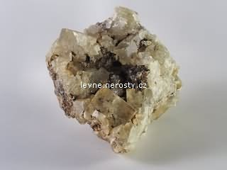 fluorit + goethit