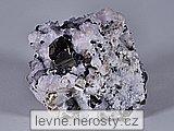pyrit, manganokalcit, sfalerit